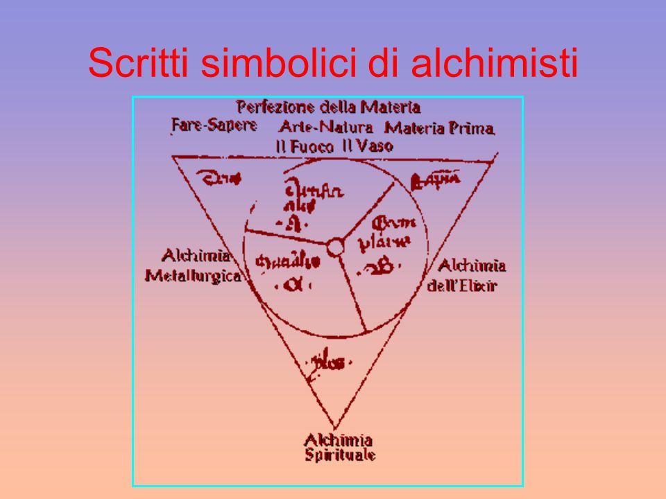 Scritti simbolici di alchimisti