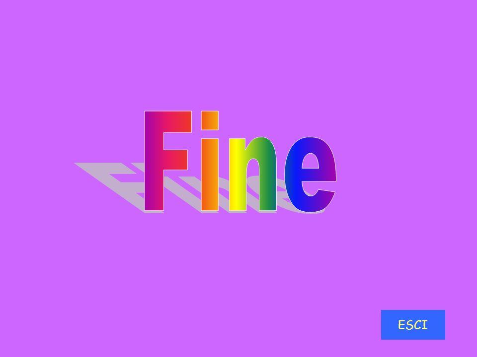 Fine ESCI