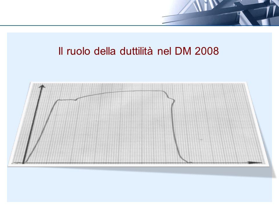 Il ruolo della duttilità nel DM 2008
