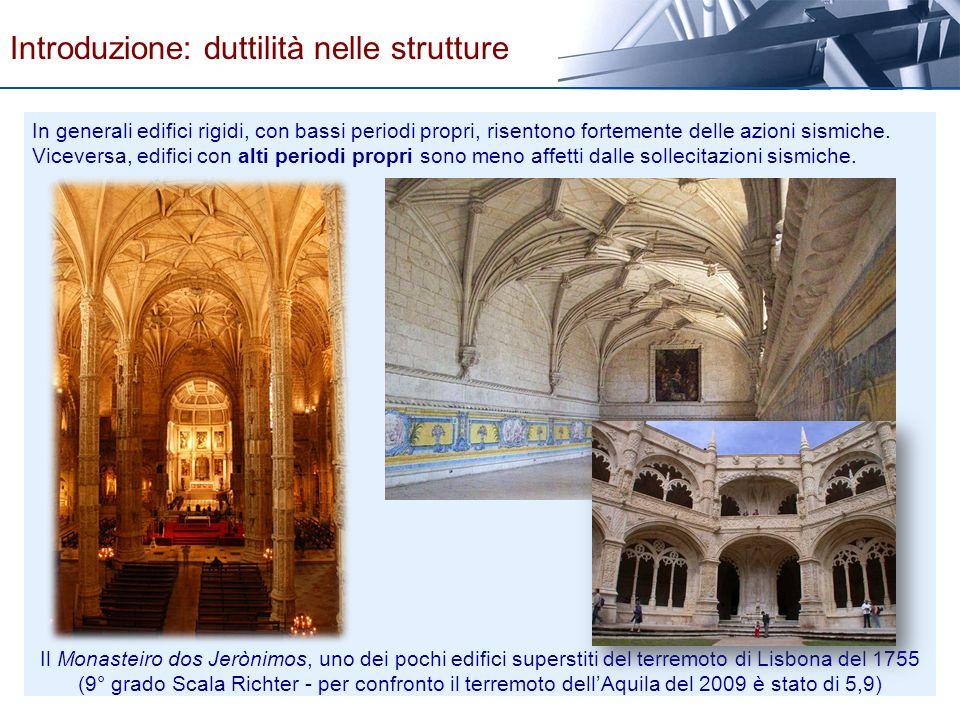 Introduzione: duttilità nelle strutture