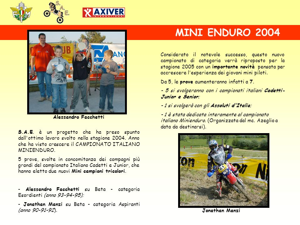 MINI ENDURO 2004