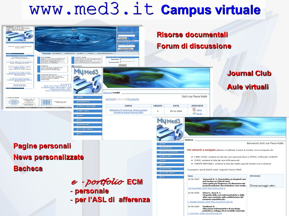 www.med3.it Campus virtuale