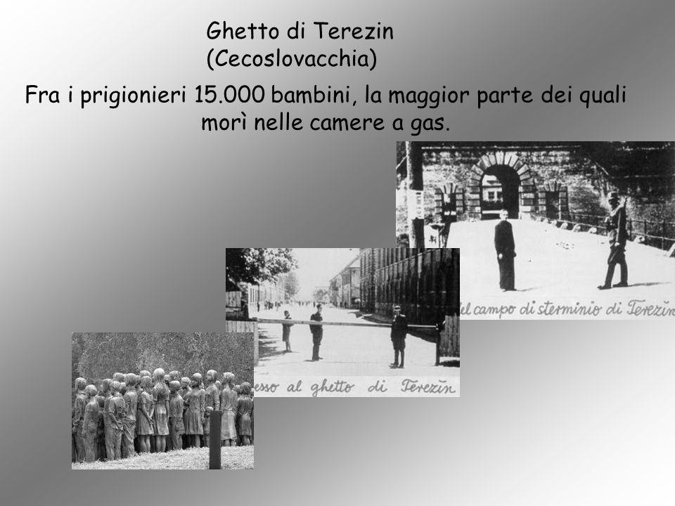 Ghetto di Terezin (Cecoslovacchia)