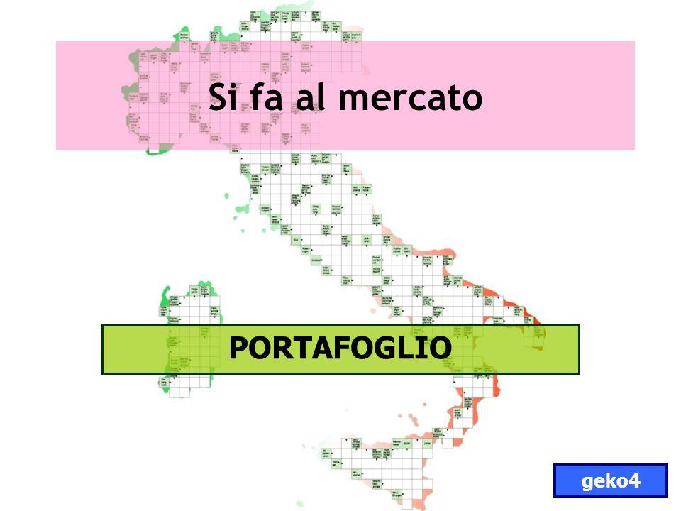 Si fa al mercato PORTAFOGLIO geko4