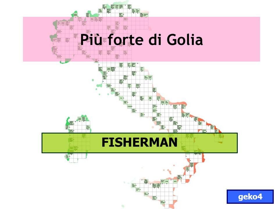 Più forte di Golia FISHERMAN geko4