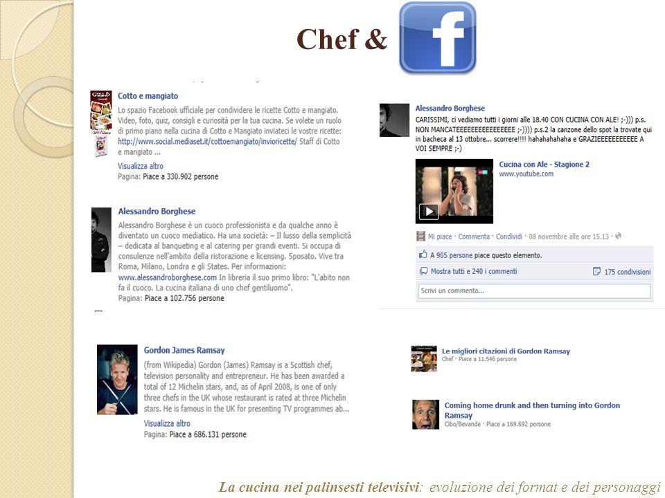Chef & La cucina nei palinsesti televisivi: evoluzione dei format e dei personaggi