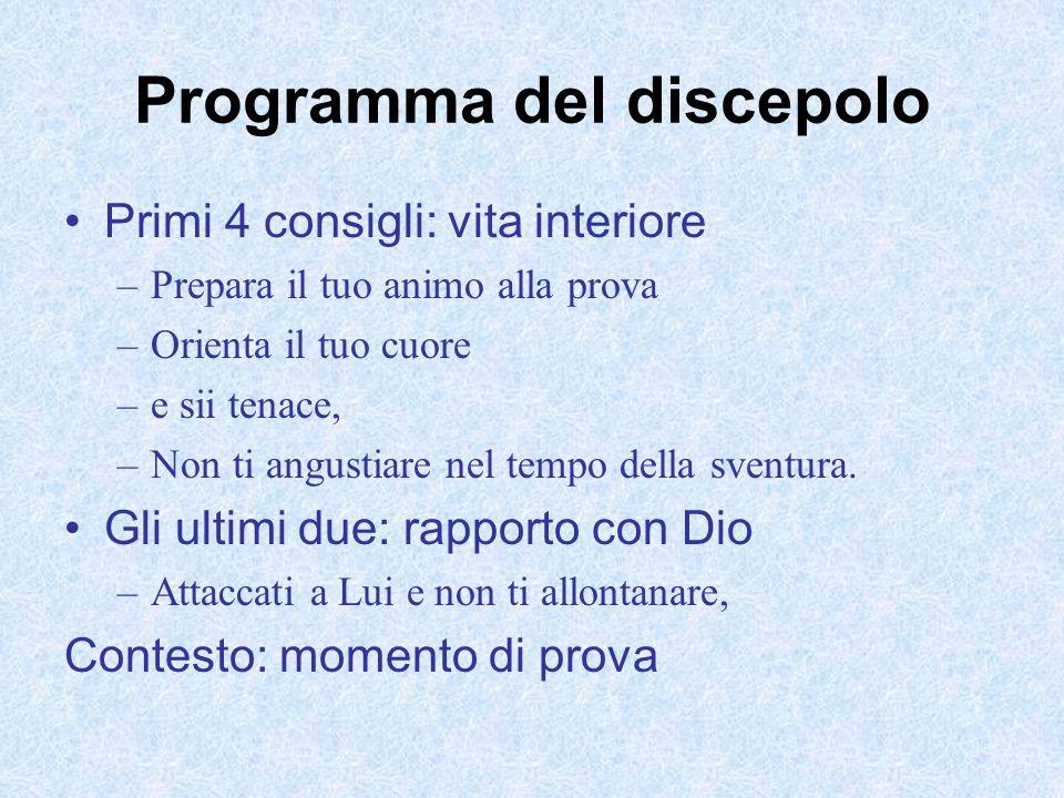Programma del discepolo
