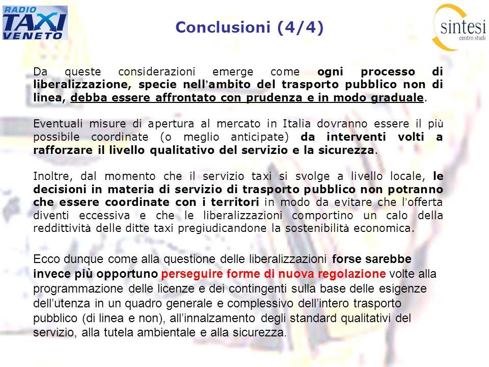 Conclusioni (4/4)