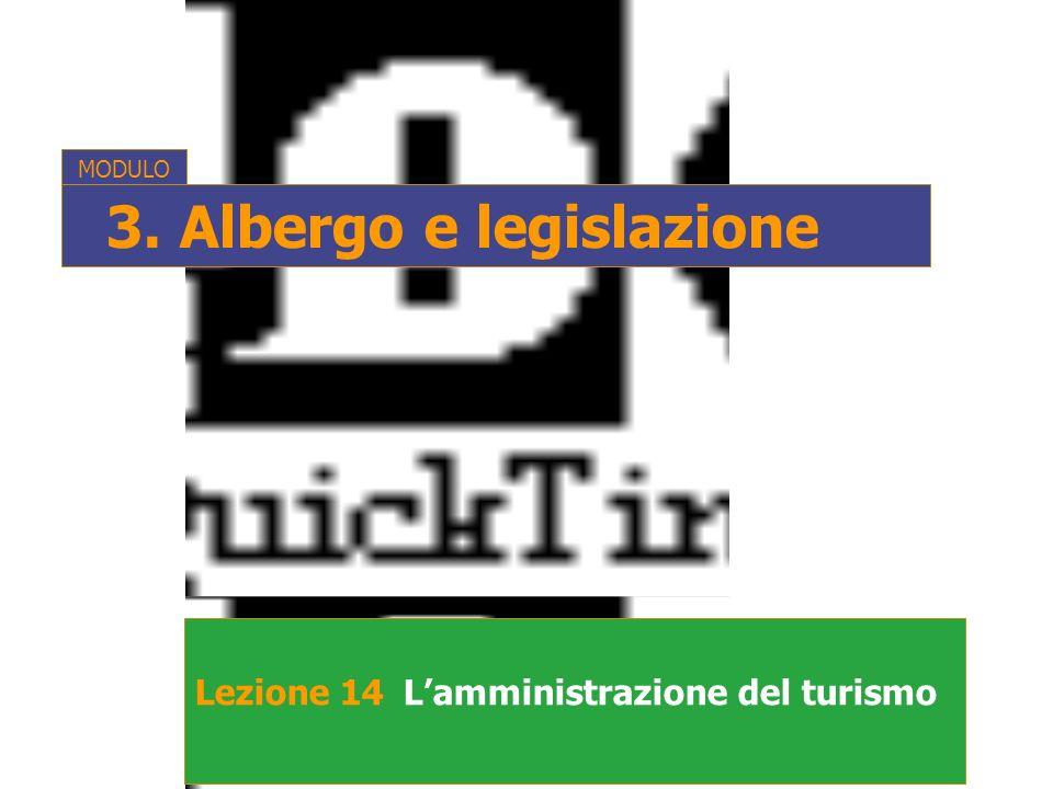 3. Albergo e legislazione