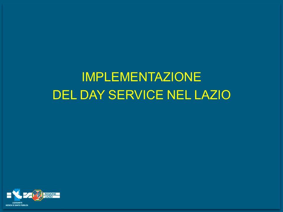 DEL DAY SERVICE NEL LAZIO