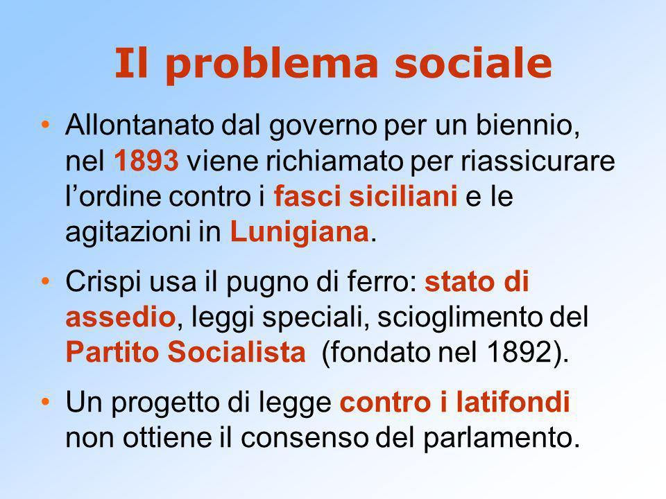 Il problema sociale