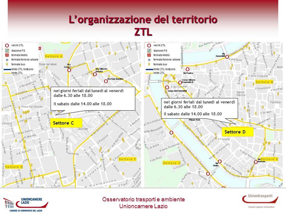 L'organizzazione del territorio