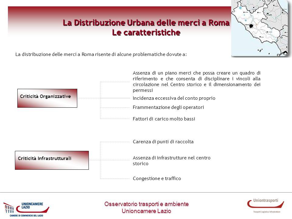 La Distribuzione Urbana delle merci a Roma
