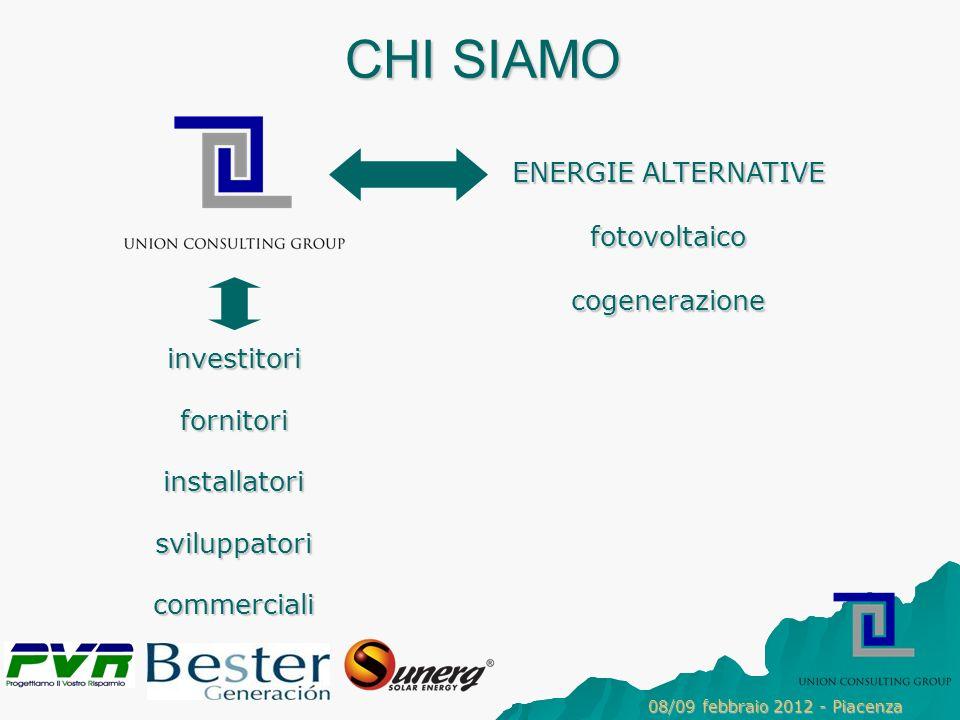 CHI SIAMO ENERGIE ALTERNATIVE fotovoltaico cogenerazione investitori