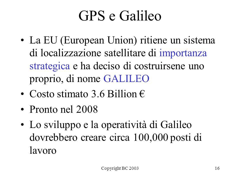 GPS e Galileo