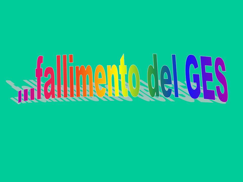 ...fallimento del GES