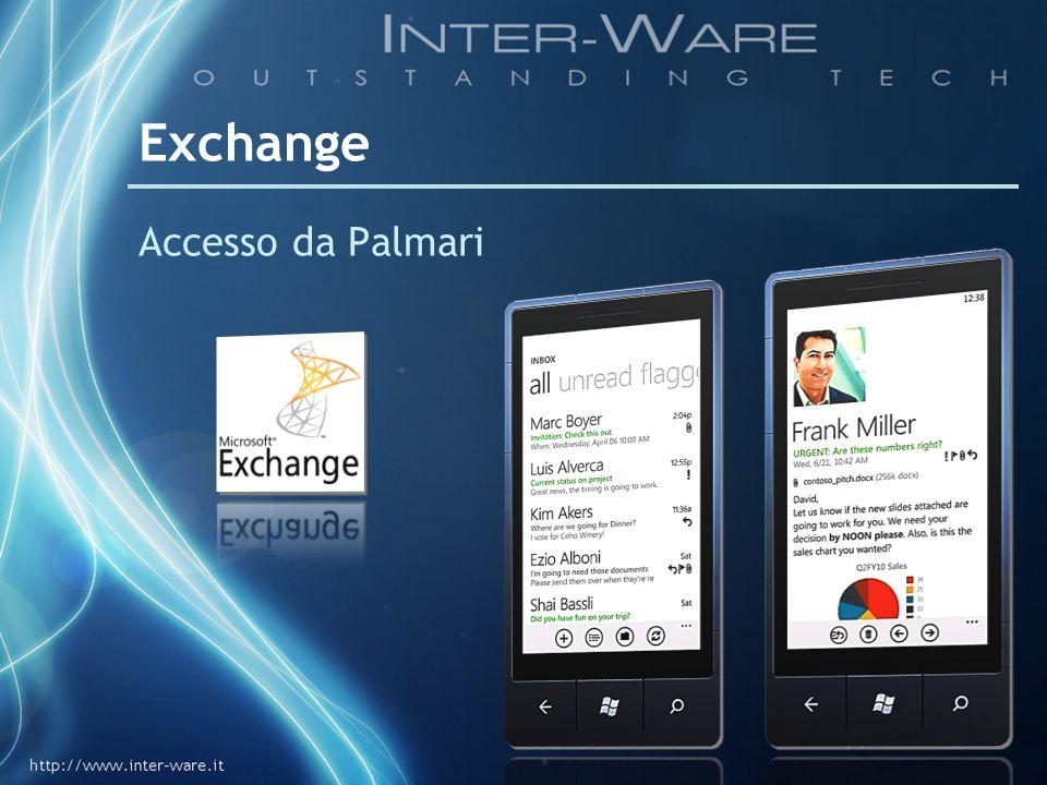 Exchange Accesso da Palmari