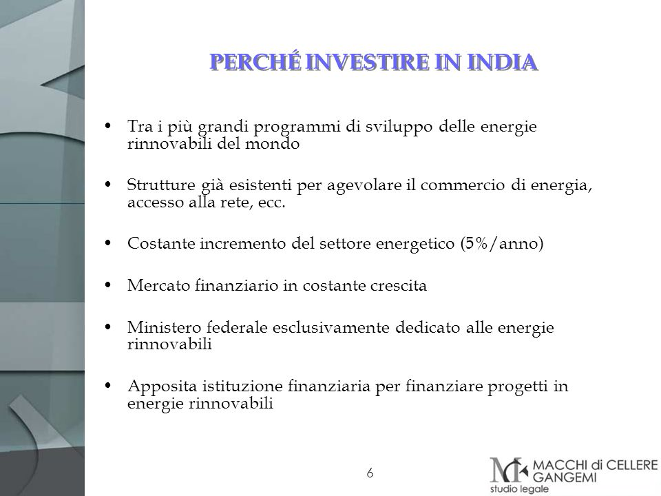 PERCHÉ INVESTIRE IN INDIA