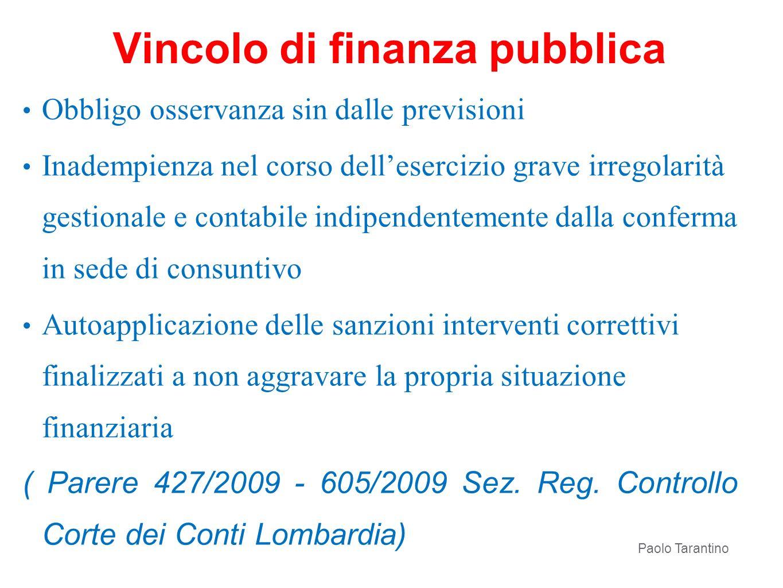 Vincolo di finanza pubblica