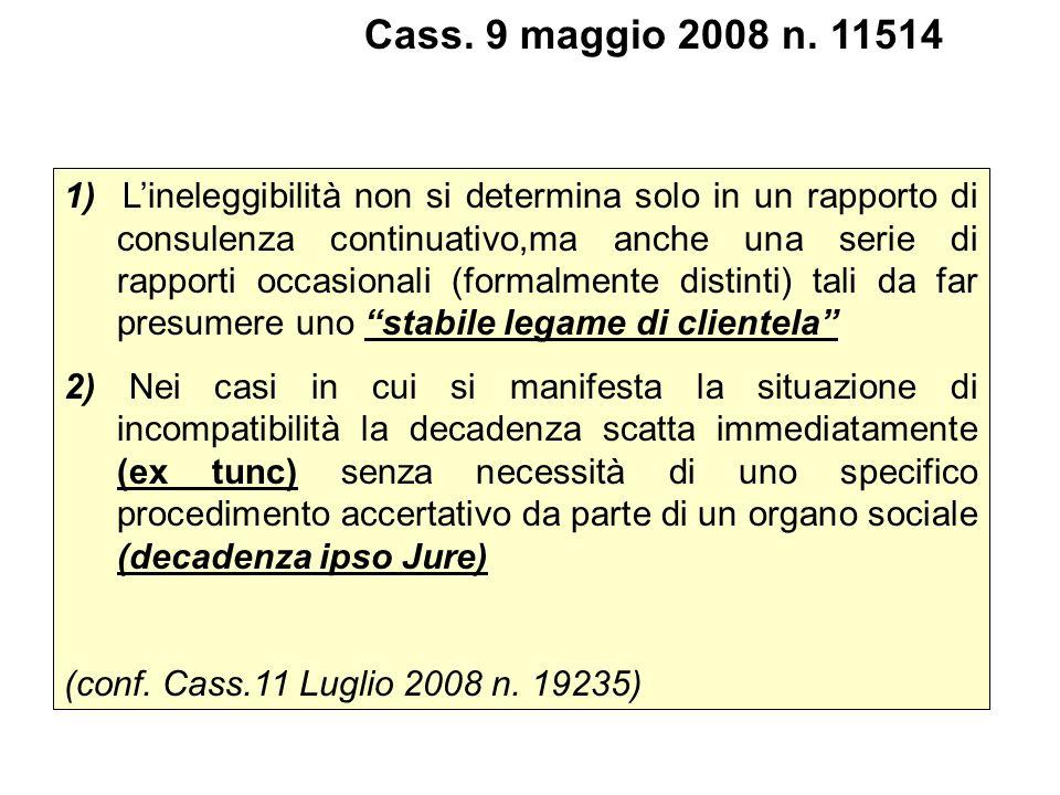 Cass. 9 maggio 2008 n. 11514