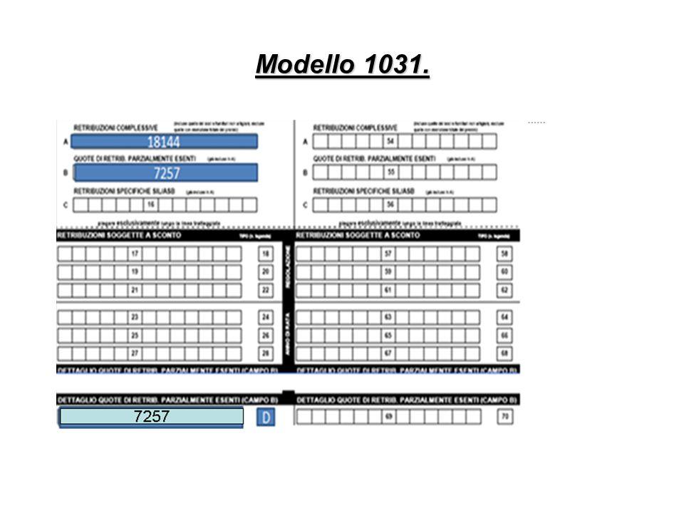 Modello 1031.