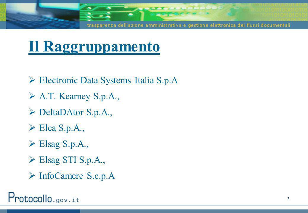 Il Raggruppamento Electronic Data Systems Italia S.p.A
