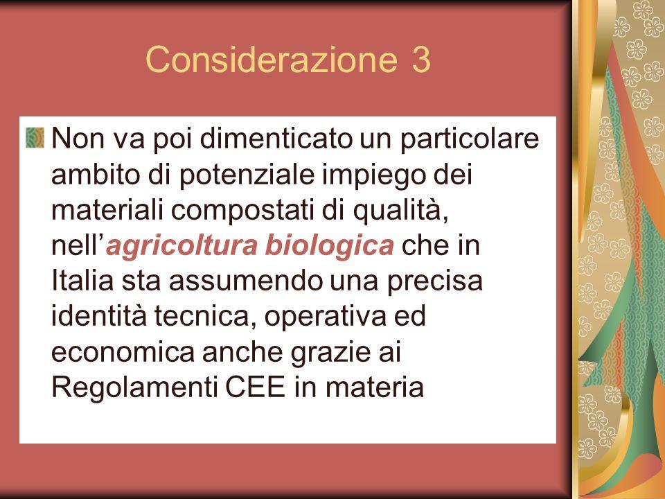 Considerazione 3