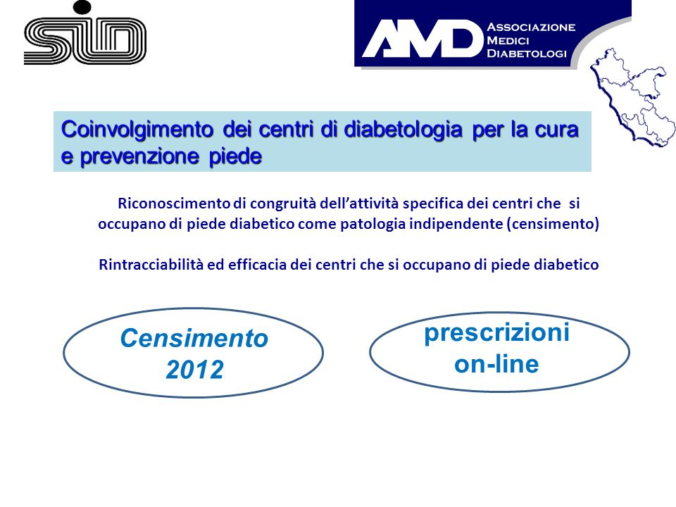Censimento 2012 prescrizioni on-line