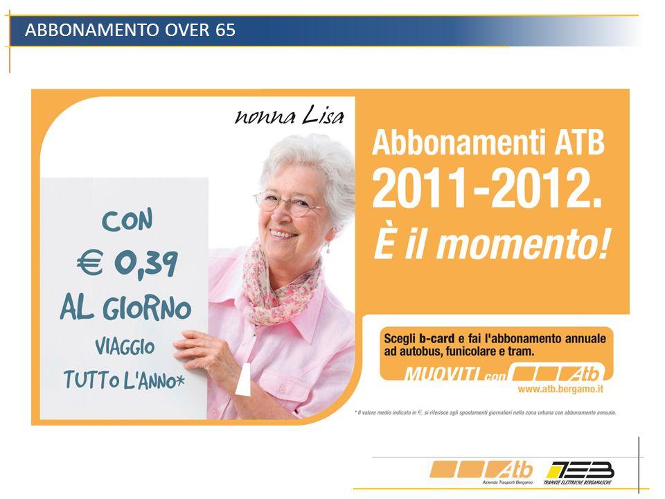 ABBONAMENTO OVER 65