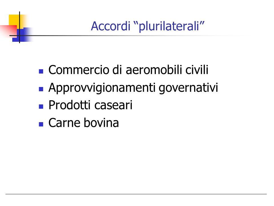 Accordi plurilaterali