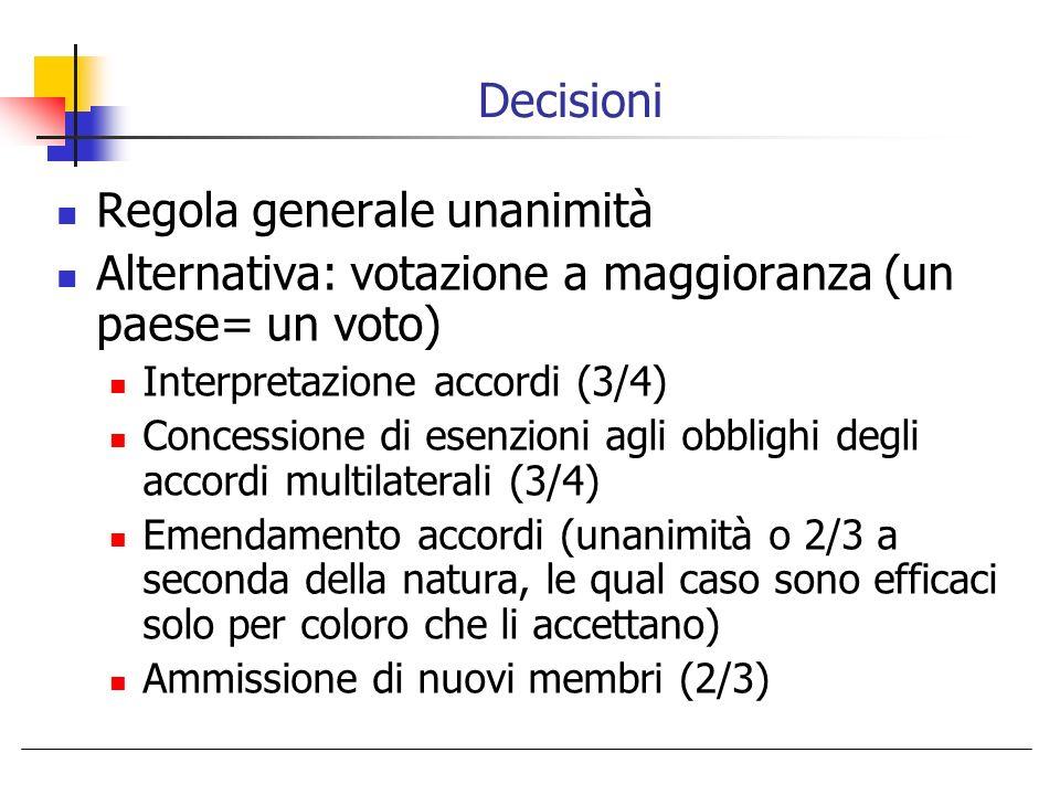 Regola generale unanimità