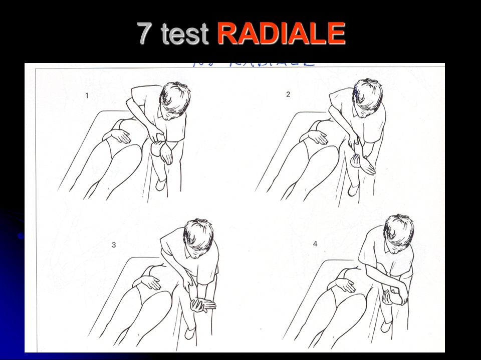 7 test RADIALE