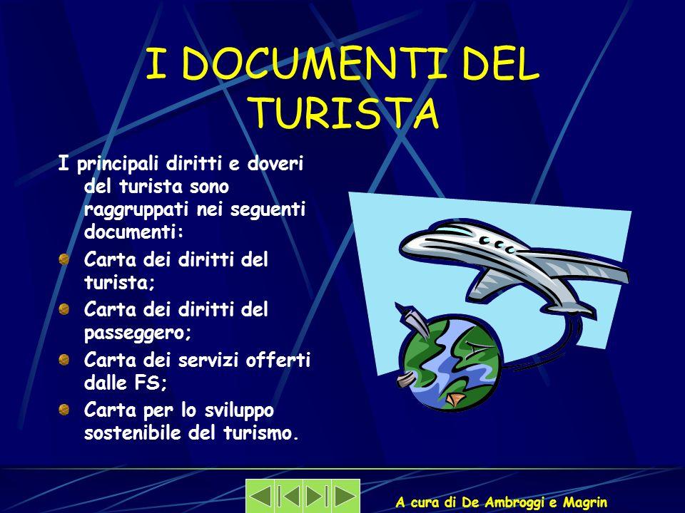 I DOCUMENTI DEL TURISTA