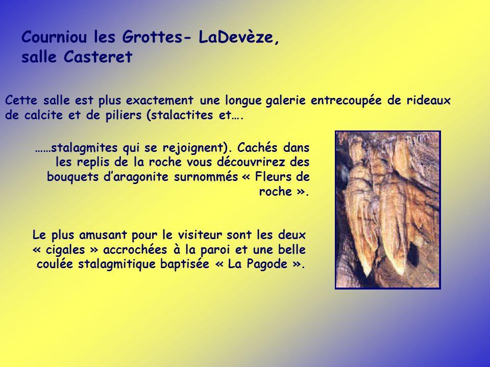 Courniou les Grottes- LaDevèze, salle Casteret