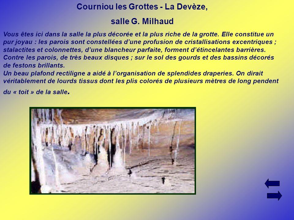 Courniou les Grottes - La Devèze,