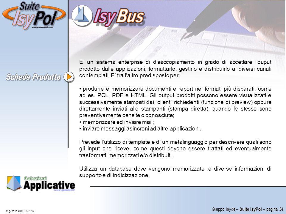 memorizzare ed inviare mail;