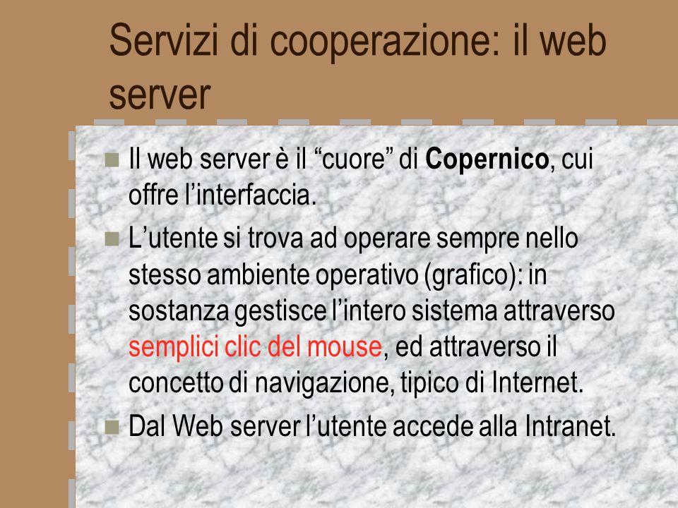 Servizi di cooperazione: il web server