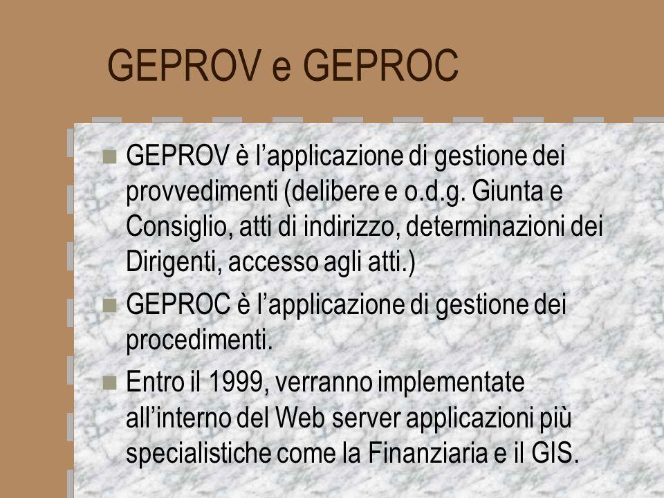 GEPROV e GEPROC