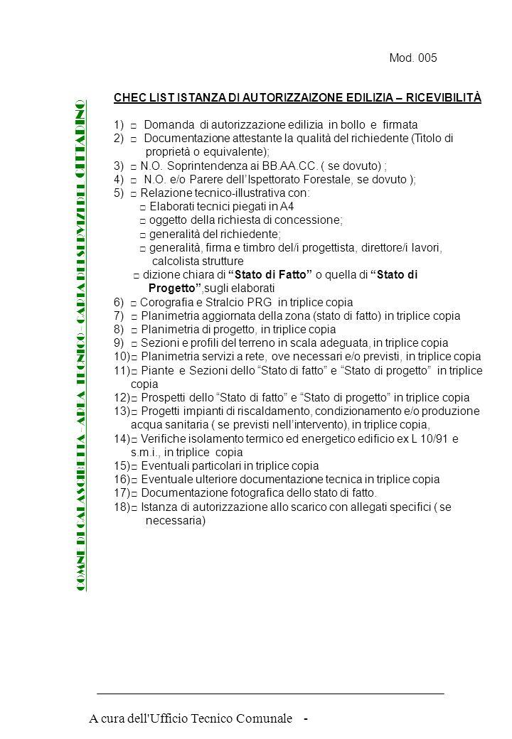 COMNE DI CALASCIBETTA - AREA TECNICO - CARTA DEI SERVIZI DEL CITTADINO