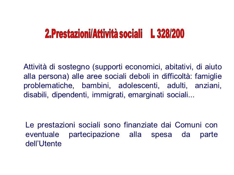 2.Prestazioni/Attività sociali L 328/200