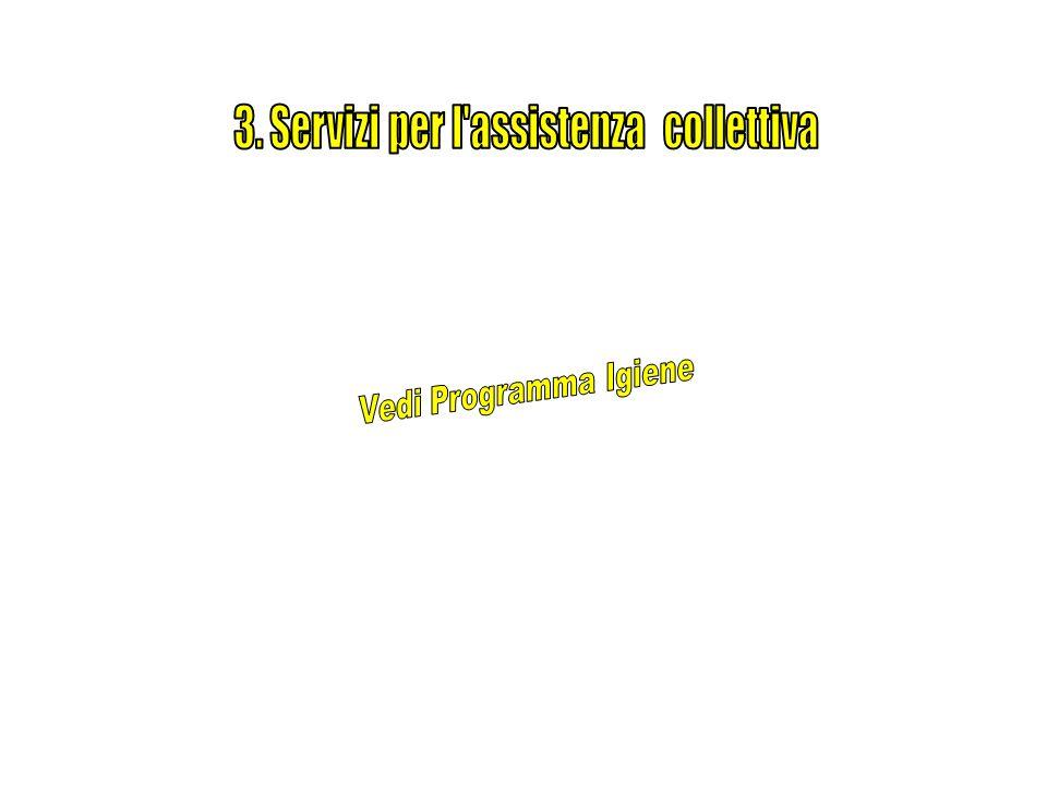 3. Servizi per l assistenza collettiva