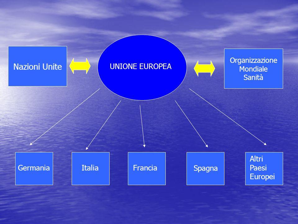 Nazioni Unite UNIONE EUROPEA Altri Paesi Europei Germania Italia