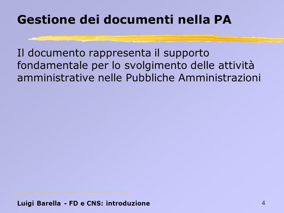 Gestione dei documenti nella PA