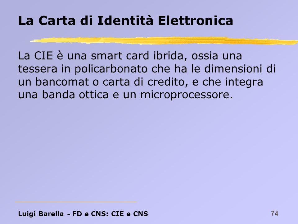 La Carta di Identità Elettronica