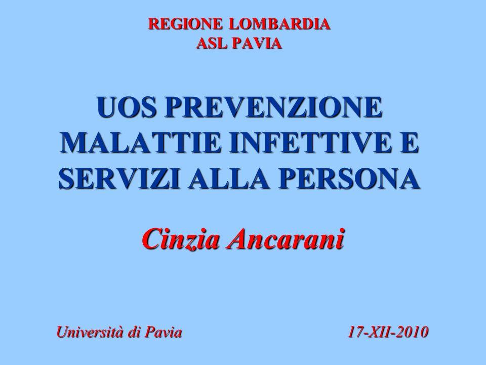 Cinzia Ancarani Università di Pavia 17-XII-2010