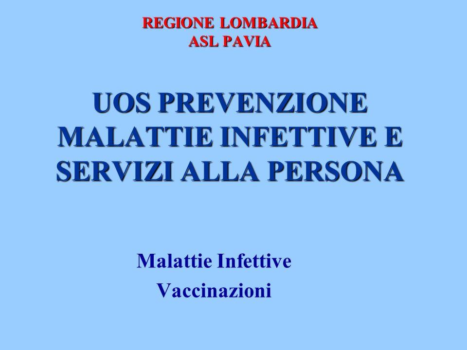 Malattie Infettive Vaccinazioni
