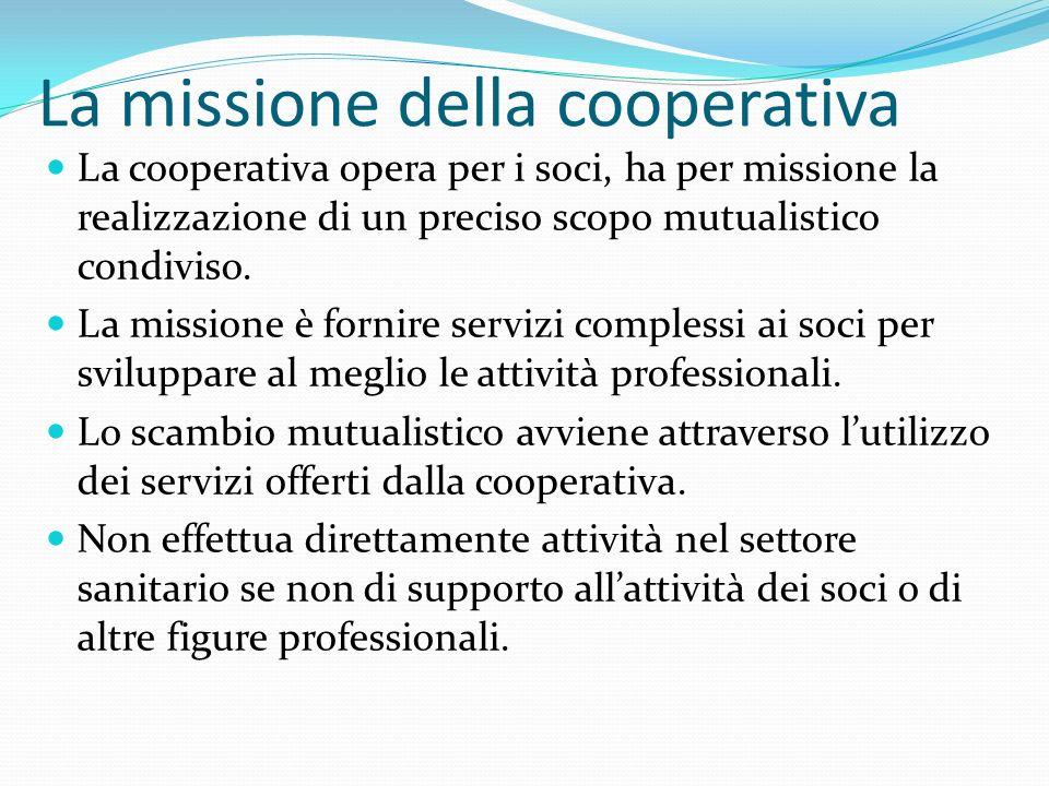 La missione della cooperativa
