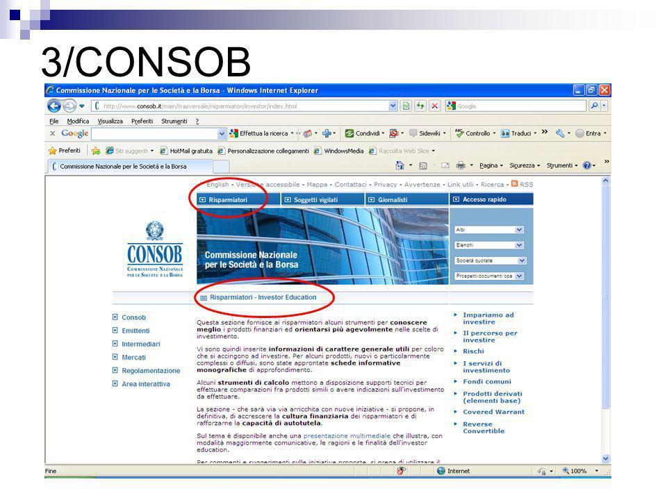 3/CONSOB