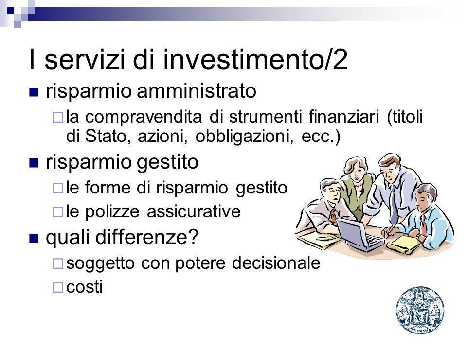 I servizi di investimento/2