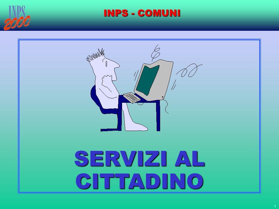 INPS - COMUNI SERVIZI AL CITTADINO